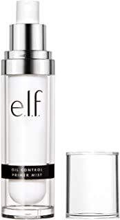 e.l.f, Oil Control Primer Mist, Water-Based, Mattifying, Lightweight, Hydrates, Preps, Balances Oil, Controls Shine, Enric...