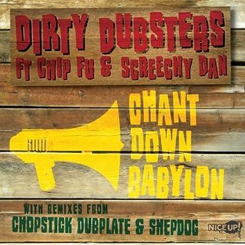 Chant Down Babylon (feat. Chip Fu & Screechy Dan)