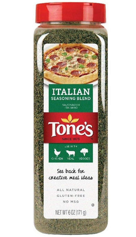 Tone's Italian Seasoning - Classic Blend of Herbs (6 oz)