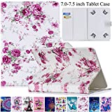 Universal Case for 7.0-7.5 inch Tablet, Artyond PU Leather Magnetic Protect Case