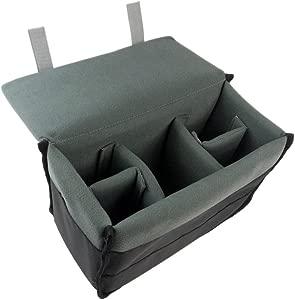 TOOGOO R  Padded Protective Bag Insert Liner Case for DSLR Camera  Len...