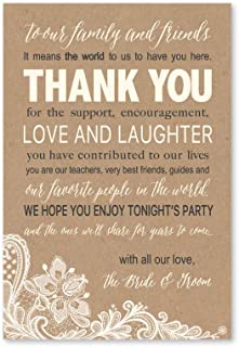Best favors for rehearsal dinner guests Reviews