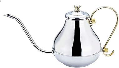 1.5L Elegante Roestvrijstalen Ketel Lange Mond Inductiekookplaat Universele Dikke Koffiepot Kettlebell (Kleur: Goud)