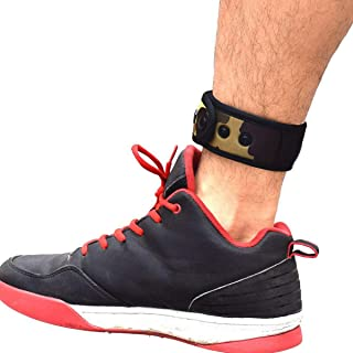 B-Great Ankle Band with Mesh Pouch for Men and Women Compatible with Fitbit Flex 2/Fitbit One/Fitbit Alta/Fitbit Charge 2 3/Misfit Ray/Fitbit Inspire HR Fitness Tracker