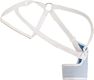 Rolyan Original Hemi Arm Sling for Left Arm, Comfortable Shoulder Sling with Elastic Straps, Shoulder Immobilizer Support for Stroke, Tissue Injury, Surgery, or Ligament Strain, Medium Regular