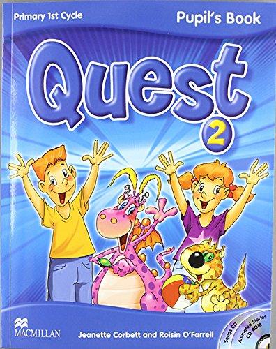Quest Level 2 Pupil's Book Pack