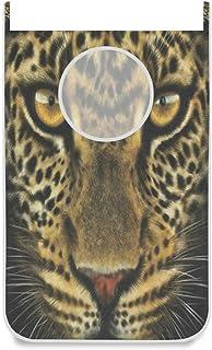 Panier à linge à suspendre Porte / mur / placard Portrait de visage de tigre Grand panier à linge suspendu pour organisate...