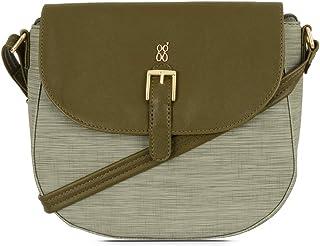 Baggit Autumn-Winter 2020 Faux Leather Women's Sling Handbag (Green) (Lxe Shini)