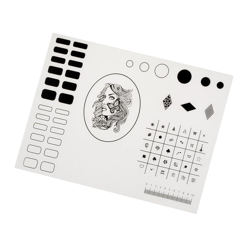 バックアップブレンド壮大Baosity ネイルマット シリコーン マニキュア ネイルステッカー プロ 初心者 便利 トップコート 2タイプ選べ - タイプ2