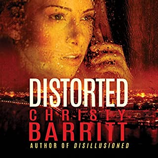Distorted audiobook cover art