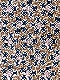 Baumwollstoff Afrikanische Modedesigns und Farben - 6 Yards