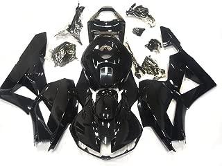 ZXMOTO H0613BLK Motorcycle Bodywork Fairing Kit for Honda CBR600RR 2013-2018 2013 2014 2015 2016 2017 2019Gloss Black - (Pieces/kit: 22)