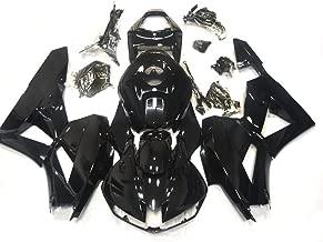 ZXMOTO H0613BLK Motorcycle Bodywork Fairing Kit for Honda CBR600RR 2013-2018 2013 2014 2015 2016 2017 Gloss Black - (Pieces/kit: 22)
