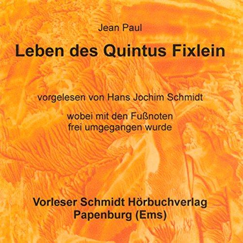 Leben des Quintus Fixlein Titelbild