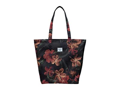 Herschel Supply Co. Mica (Tropical Hibiscus) Tote Handbags