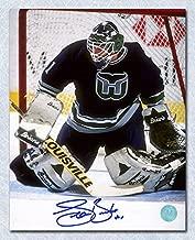 Sean Burke Hartford Whalers Autographed Goalie 8x10 Photo