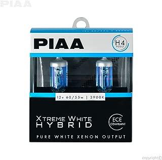 PIAA 23-10104 H4 Xtreme White Hybrid Bulb, 3900K-12V 60/55W-Twin Pack, 2 Pack