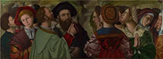 The Polyster Canvas Of Oil Painting 'Antonio Da Vendri The Giusti Family Of Verona ' ,size: 20 X 55 Inch / 51 X 139 Cm ,this Imitations Art DecorativePrints On Canvas Is Fit For Wall Art Artwork And Home Gallery Art And Gifts