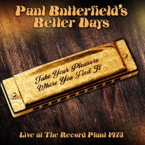 Take Your Pleasure Where You Find It - Live At The Record Plant 1973
