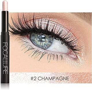 12 Colores Sombra de Ojos Lápiz de Larga Duración Maquillaje Pluma Herramienta Cosmética(#2)