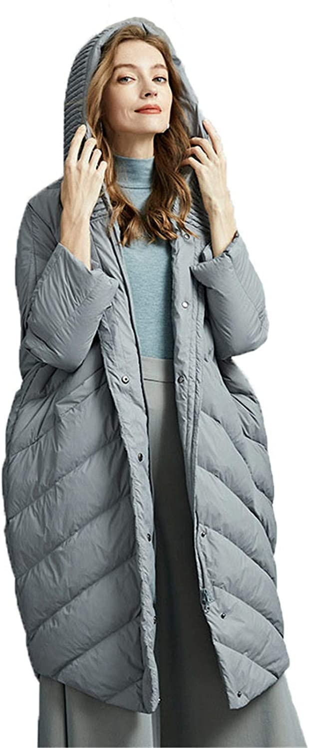 Max 51% OFF Women Coat Lightweight Puffer Columbus Mall Parka White Quilted Goose Dow Down