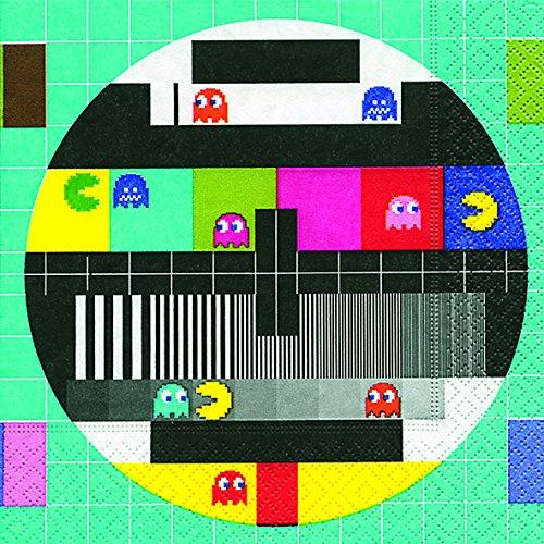 20 Servietten Test Screen – Testbildschirm/Retro/Muster 33x33cm
