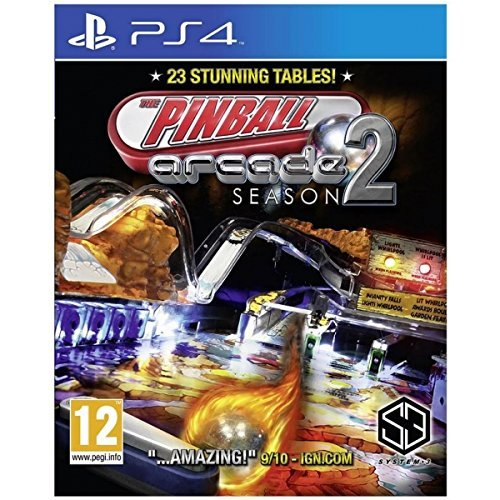 Pinball Arcade Season 2(PS4) (Import Version