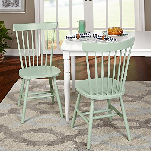 Price comparison product image Simple Living Venice Dining Chairs (Set of 2) Mint