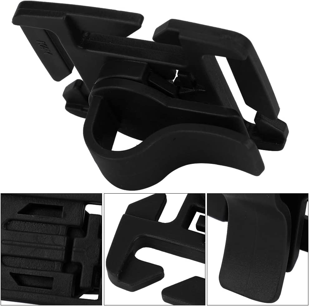 10Pcs Tube Clip,Adjustable Hydration Tube Clips Water Tube Clips for Camping Hiking Accessory