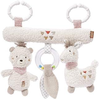 Fehn 058031 Activity-Trapez Peru – Spielzeug zum Aufhängen für Babys und Kleinkinder ab 0 Monaten – Fördert Tastsinn & Feinmotorik – Maße: 22 cm