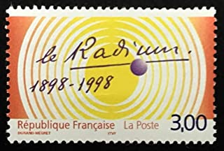 The Radium 1898-1998, France -Handmade Framed Postage Stamp Art 23011AM