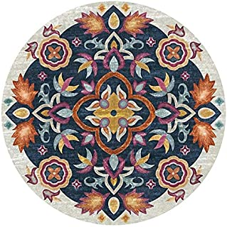 Round Meditation Mat, Round Meditation Cushion, Round Meditation Cushion for Beach Towel, Tablecloth, Yoga Mat, Picnic Tab...