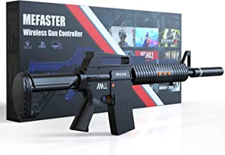 $199 » Mefaster Wireless Gun Controllers Compatible with Playstation 4, Game Joystick Controller for PS-4 Pro, PS-4 Slim Shooting...