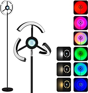 NODARK Lampadaire Sunset Lampe, RGB Réglable Lampe de Projection Coucher de Soleil, 3000K~6500K LED Changement de Couleur ...