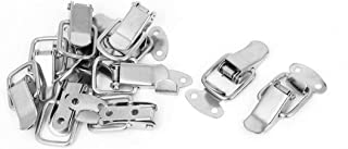 Drawer Toolbox Metal Spring Loaded Toggle Draw Latch Catch Hasp 10pcs, Metal