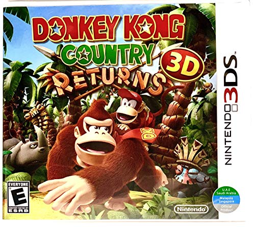 3DS Donkey Kong Returns - World Edition