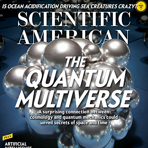 Scientific American, June 2017 audiobook cover art