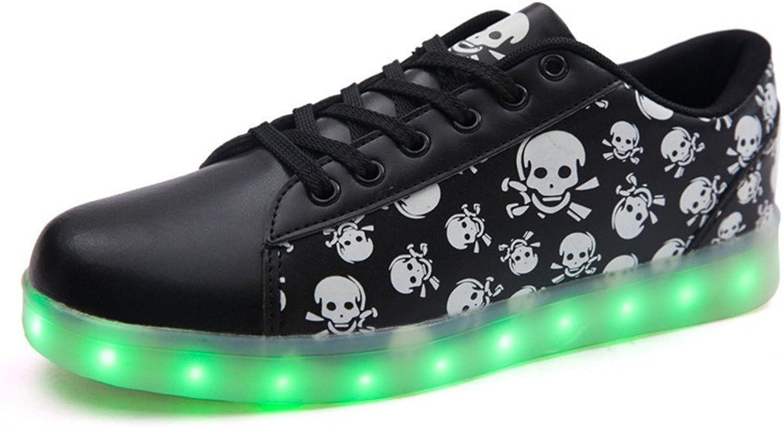 Sexphd LED shoes Light Up Glow Sneakers Unisex Men Women USB Charging Flashing Luminous Sports shoes