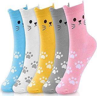 Painting Art Socks Unisex Dress Short Spring Cotton Socks 4 Pack Birthday Easter Gifts Presents for Girl Women Man