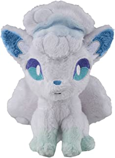 Takaratomy Pokemon Sun & Moon Alolan Vulpix Stuffed Plush 8