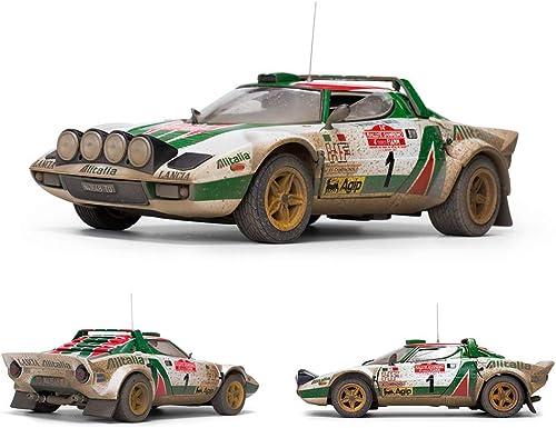 Sun Star Lancia Stratos HF Rallye Sanremo 1976  1 Munari   Maiga Muddy Version 1 18 4628