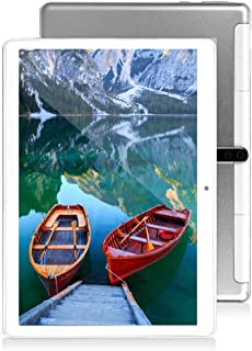 10 inch Android Tablet PC, Octa-Core Processor, 5G-WiFi, 4GB RAM, 64GB ROM, Dual SIM Cards Slot Unlocked Tablet, Built-in ...
