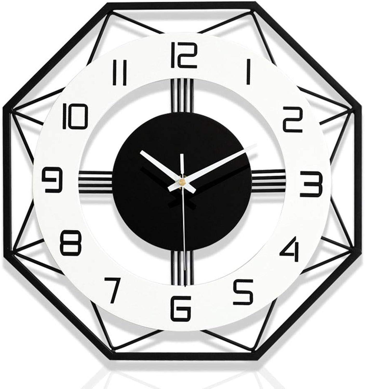 LRXHGOD Reloj de Parojo, Decoración del hogar, Relojes, Moda, Relojes creativos de Cuarzo,60x60cm