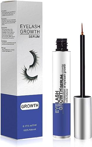 AREUM Eyelash Growth Serum, Eyelash & Eyebrow Enhancer, Natural Ingredients Lash Boost Serum to Grow Longer Fuller Th...