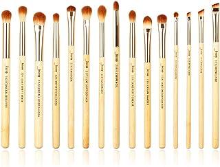 Jessup Brand 15pcs Beauty Professional Makeup Brushes Set Bamboo Make up Brush Tools kit Eye Shader Liner Crease Eye Brush...