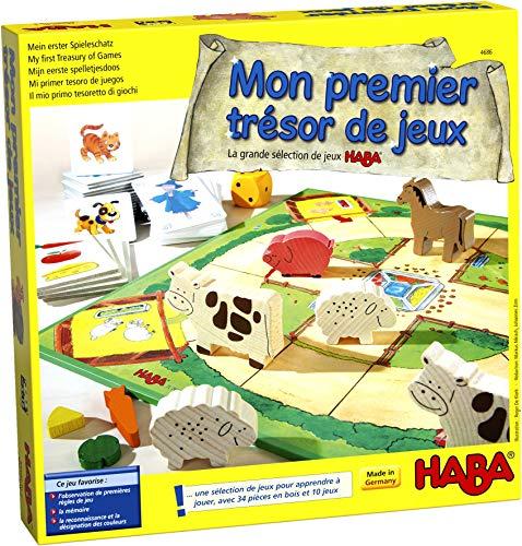 HABA-004686 HABA société-Mon Premier trésor Grande sélection de Jeux 3 Ans et Plus, 004686