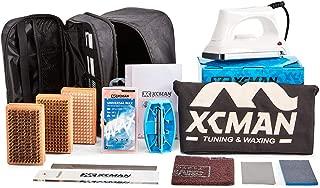 ski sharpening and waxing kit