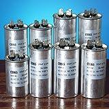 Bluelover 15-50Uf Motore Condensatore Cbb65 450Vac Aria Condizionata Compressore Start Con...