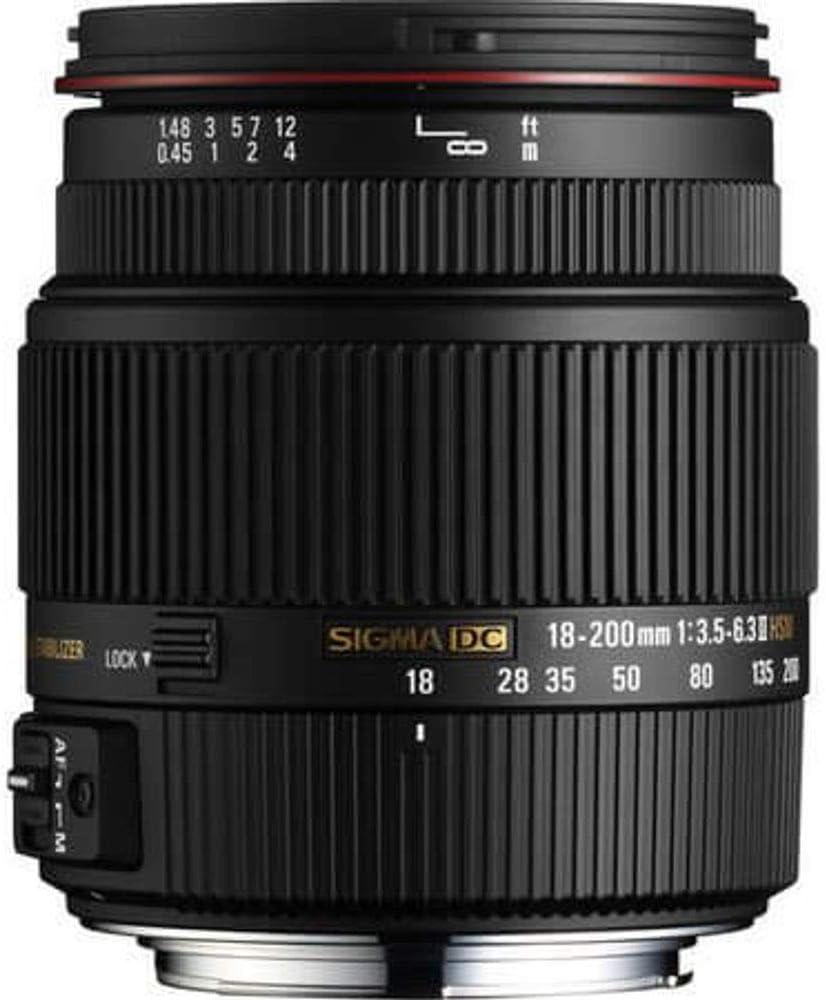 Sigma 18 200 Mm F3 5 6 3 Ii Dc Os Hsm Objektiv Für Kamera