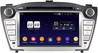 Android 9.0 OS Car GPS Navigation Compatible with Hyundai Tucson/IX35(2009-2014), 7 Inch Touchscreen DVD Player Radio Blue...